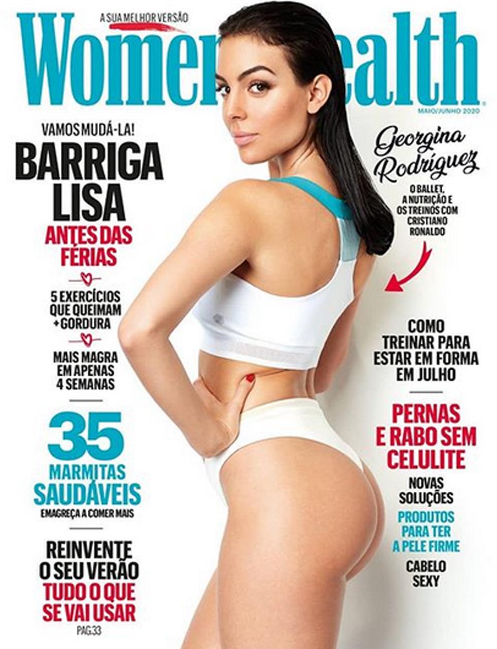 Georgina Rodríguez es la protagonista de la edición portuguesa de la...