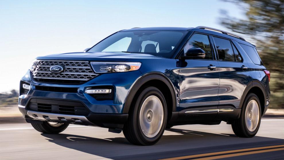 Un Ford Explorer Limited de 2019.