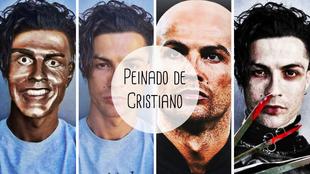Cristiano Ronaldo, delantero portugués de la Juventus, presentó en...
