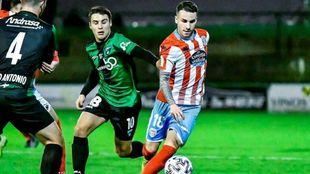 Imagen del partido de Copa entre Sestao River y Lugo disputado en Las...