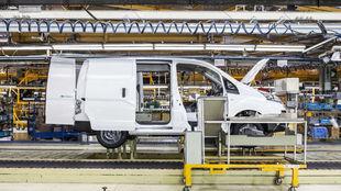 La furgoneta eléctrica e-NV200 se fabrica para todo el mundo en...