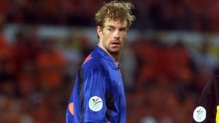 Konterman, en un partido con Holanda