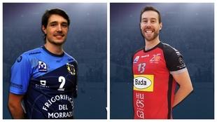 Filip Vujovic y Pilipe Mota, nuevos jugadores del Nava /
