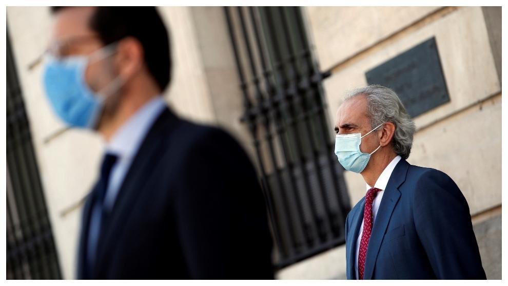 El consejero de Sanidad de la Comunidad de Madrid, Enrique Ruiz...