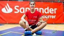 """Carolina Marín vuelve a entrenar en el CAR: """"Me ha beneficiado que se aplazaran los Juegos"""""""