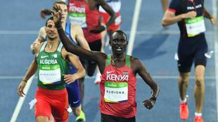 Rudisha se impone en los 800 metros de los Juegos de Río.