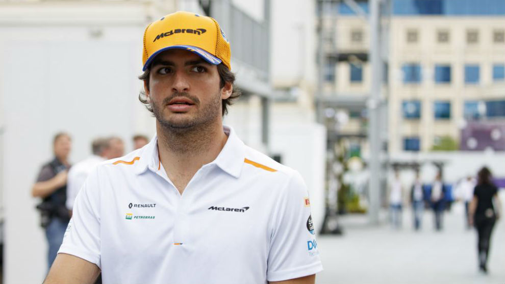 Carlos Sainz, con McLaren.