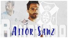 Aitor Sanz, el último capitán en renovar