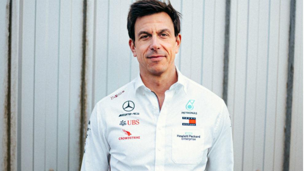Wolff, con Mercedes.