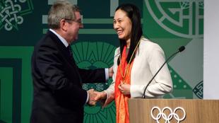 Zhang Hong fue elegida como presidenta del Comité de Coordinación...