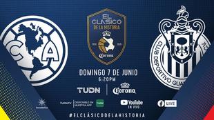 #ElClásicoDeLaHistoria: ¡Corona reúne 70 años de América vs Chivas en 90 minutos épicos!