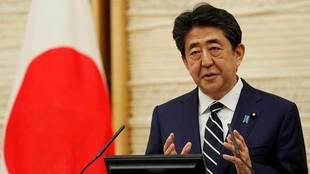 Shinzo Abe, primer ministro de Japón.