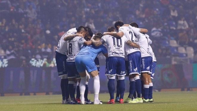 El Puebla en el Estadio Cuauhtémoc.