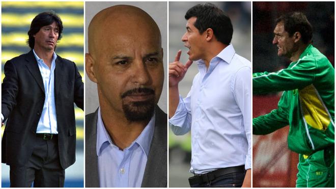 Comizzo, Figueroa, Almirón y Franco.