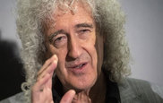 El veterano guitarrista de Queen, Brian May.