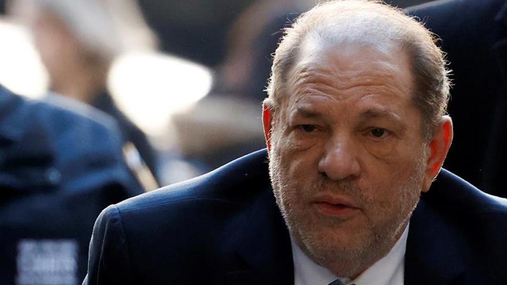 Harvey Weinstein durante uno de sus juicios.