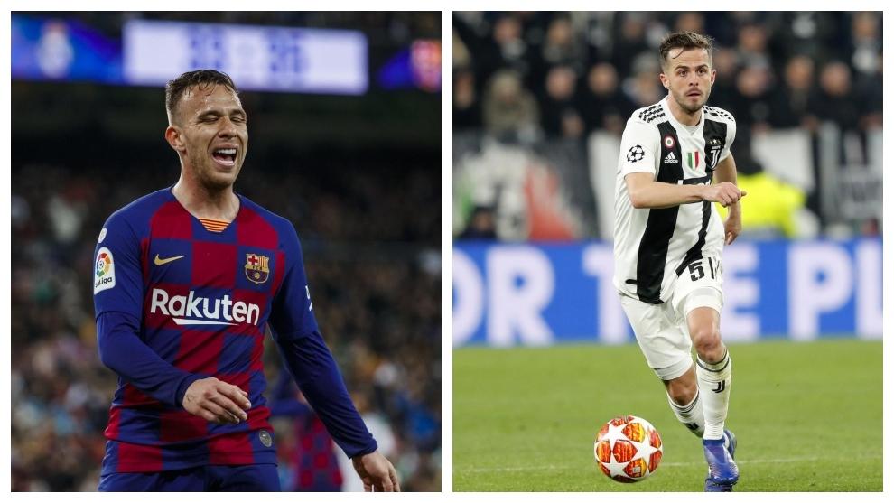 La Juve da por perdido, al fin, a Arthur... y también a Pjanic
