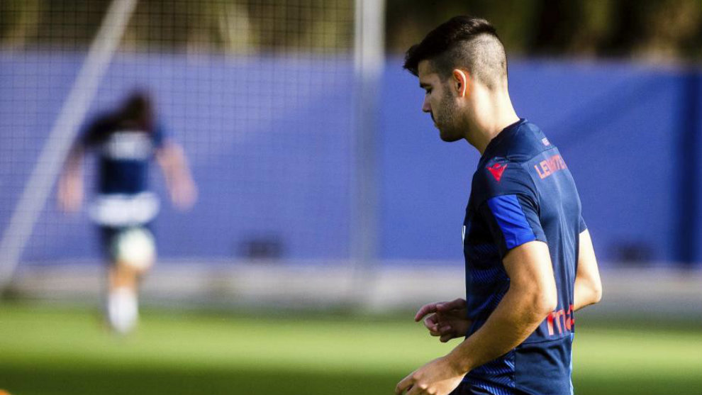 """Levante: Rober Pier: """"Winning the derby would be a good push to start"""""""