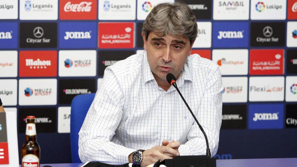 Txema Indias seguirá una temporada más en el Leganés