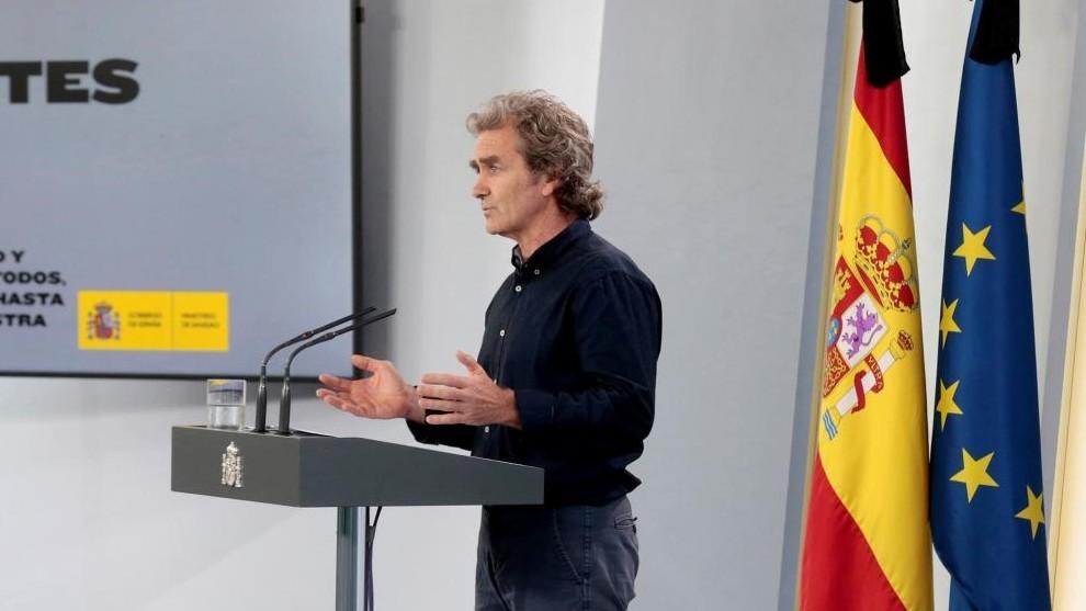 Fernando Simón no será imputado por la manifestación del 8M