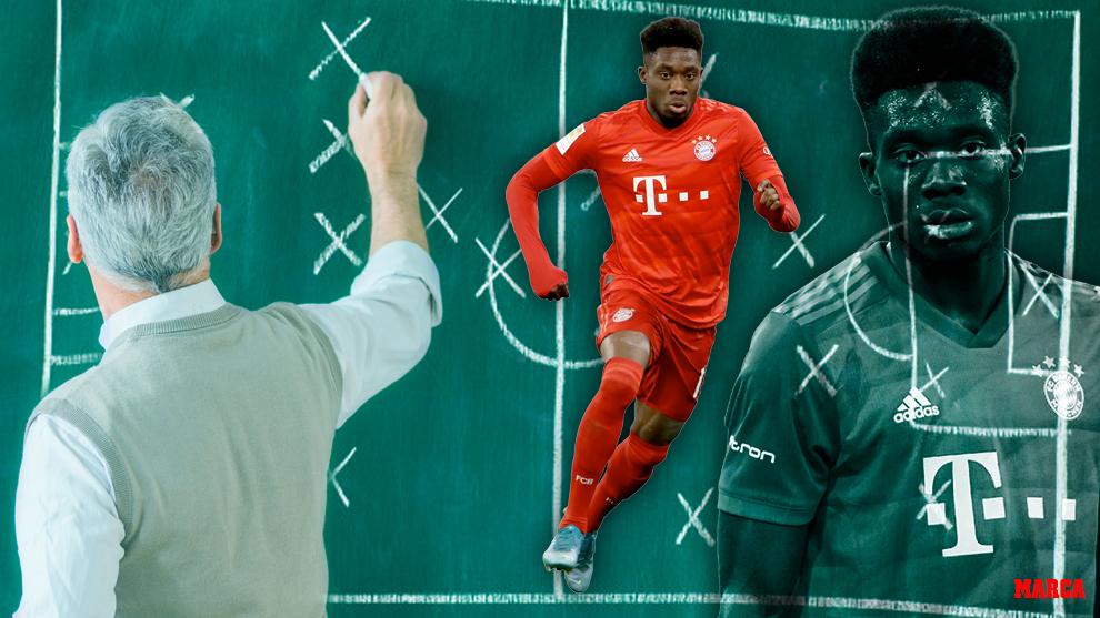 Alphonso Davies, la joya del Bayern: velocidad, precisión en el pase y desborde