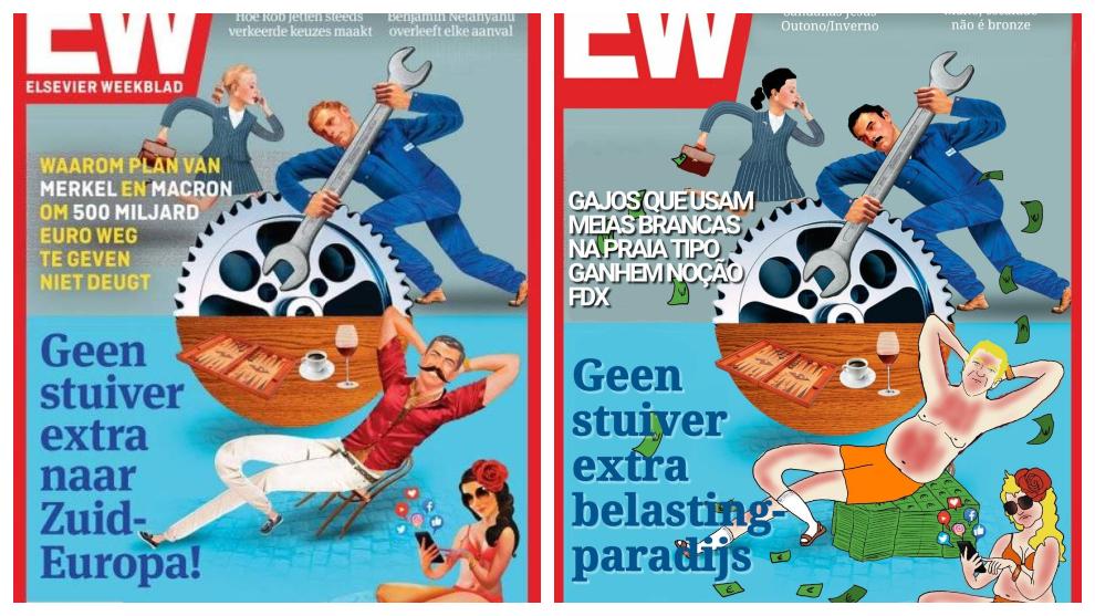 """Una revista holandesa niega un centavo a """"los del Sur"""" y desde..."""
