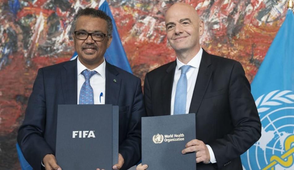 FIFA y OMS elaboran un documento de consideraciones médicas y evaluación de riesgos