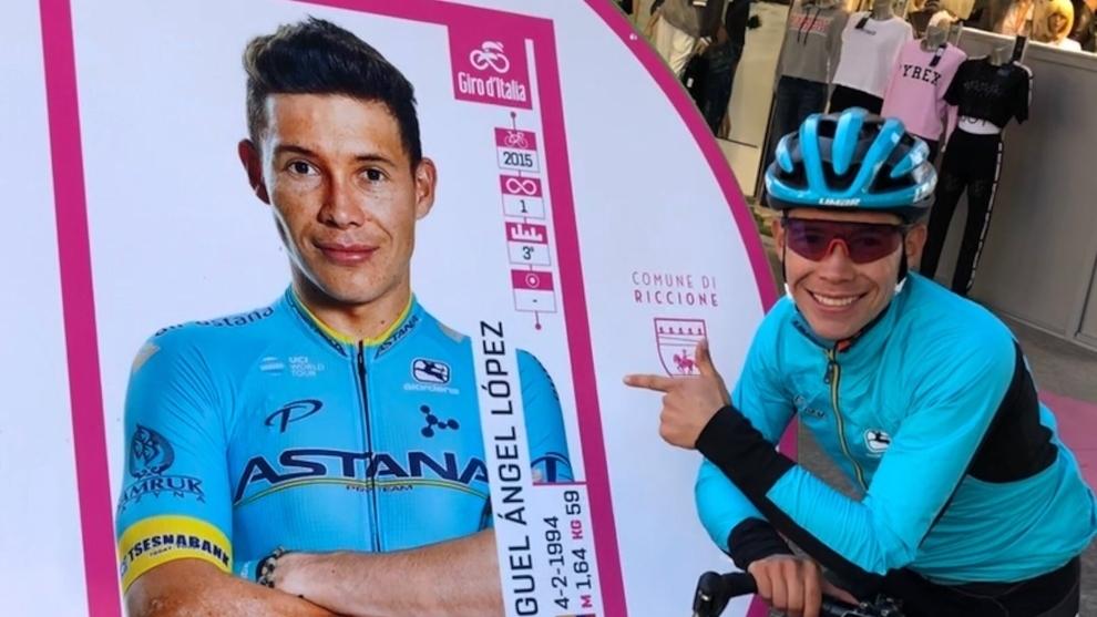 Miguel Ángel 'Supermán' López podría salir del Astana para ir al Bora-Hansgrohe