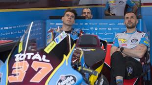 Augusto Fernández en el box del Mark VDS Estrella Galicia 00