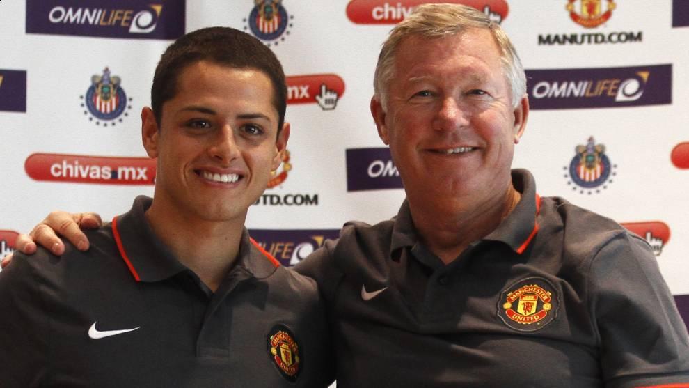 'Chicharito' afirma que llegada de Moyes al Manchester United fue un error