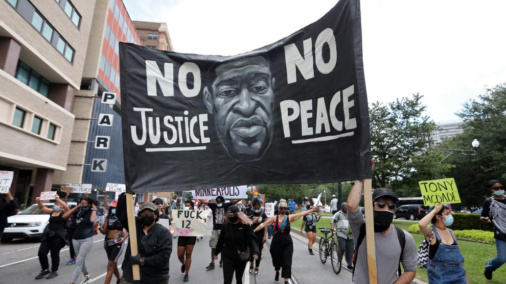 Las protestas por la muerte de George Floyd continúan