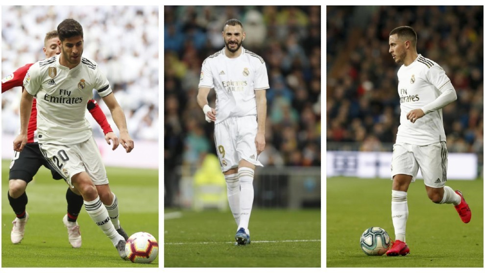 Hazard and Asensio ready to combat Benzema's loneliness