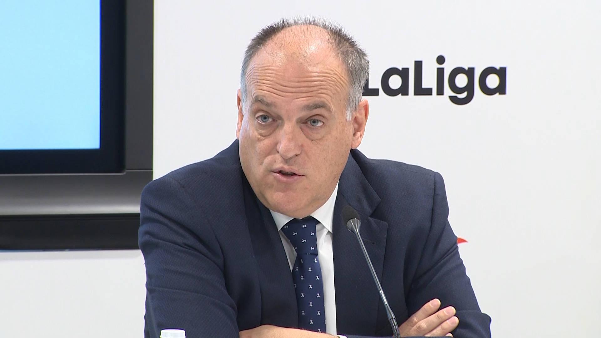 Vuelve LaLiga: Javier Tebas anuncia horarios y partidos de las jornadas 28 y 29, en directo