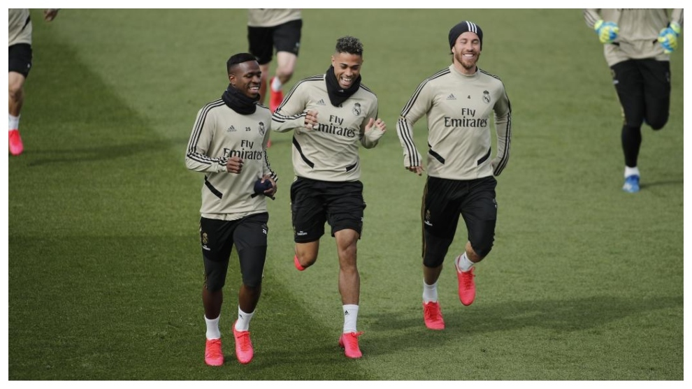 Zidane and the return to group training after 81 days