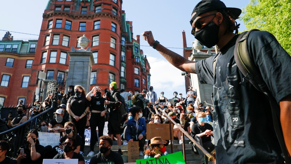 La protestas en Estados Unidos han arreciado por la muerte de George...