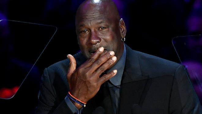 Michael Jordan, en el homenaje a Kobe Bryant