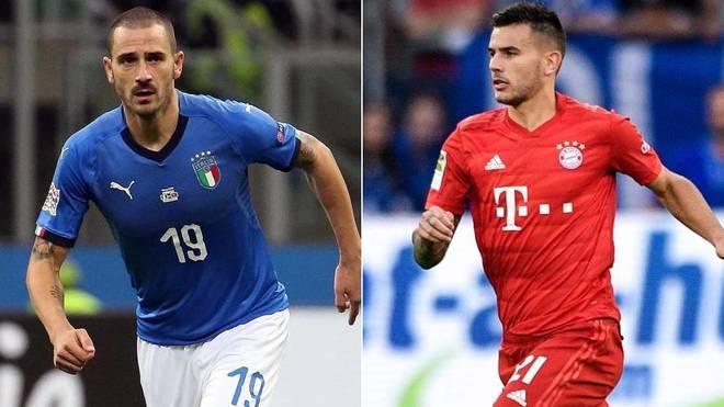 Bonucci y Lucas Hernández, dos de los nombres que suenan en el...