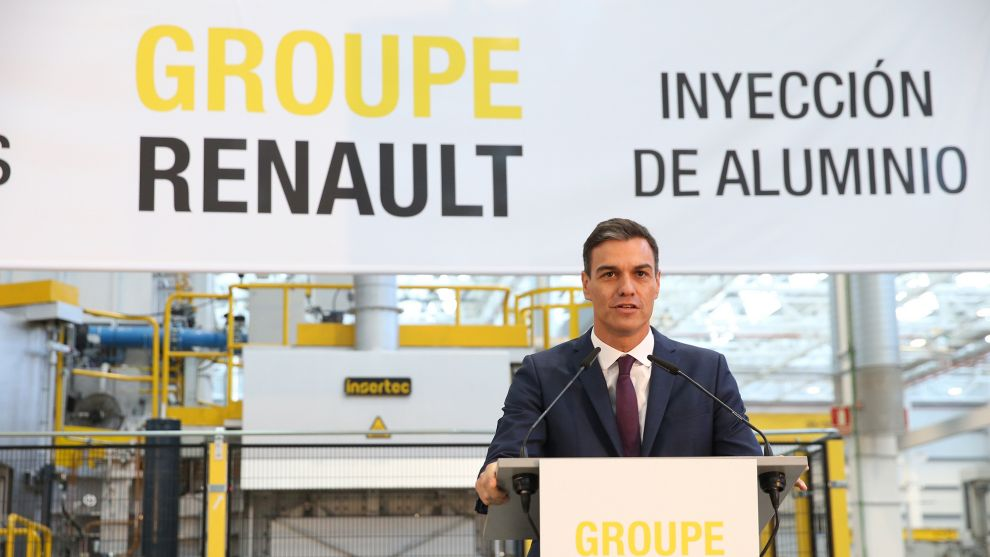 Los seis puntos del plan de ayuda al automóvil que prepara el Gobierno de Pedro Sánchez
