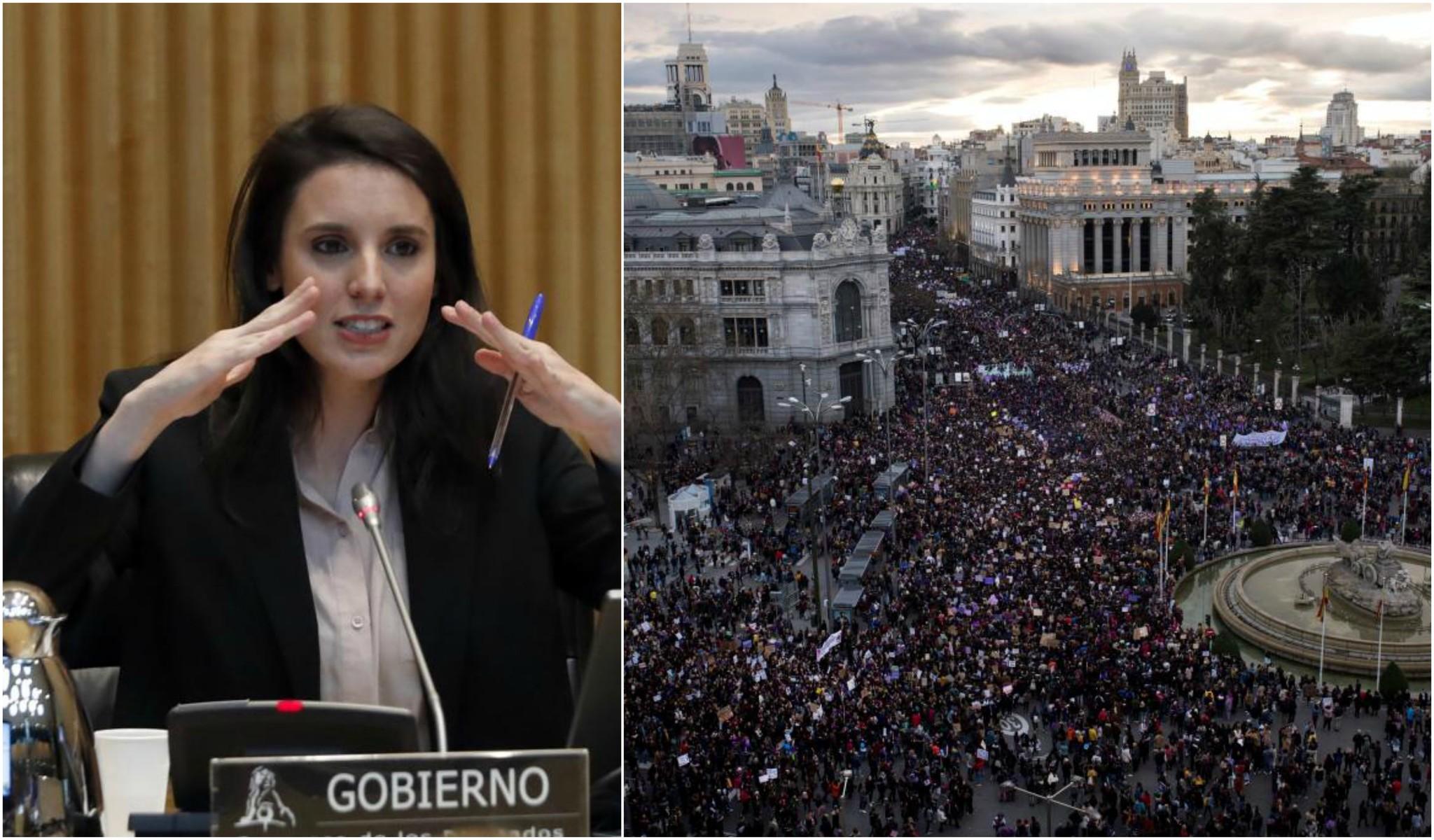 Irene Montero admite en un video que ola