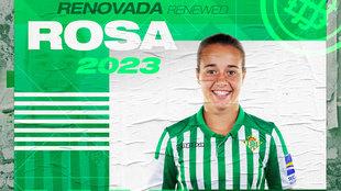 Rosa Márquez, jugadora del Betis