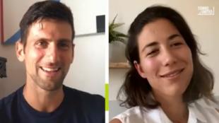 Djokovic y Garbiñe hablan por instagram