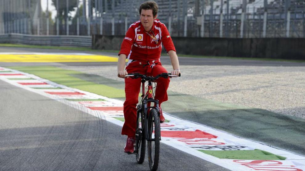 Smedley, durante el Gran Premio de Italia 2011 en Monza.