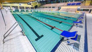 La piscina del Club Natación Sabadell.