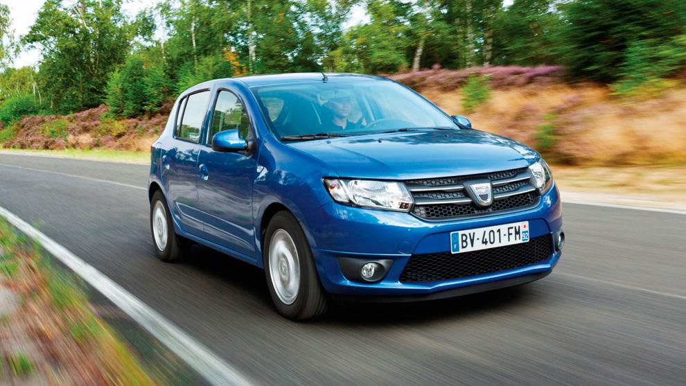 El Dacia Sandero, líder de los 10 coches más vendidos en España en mayo de 2020