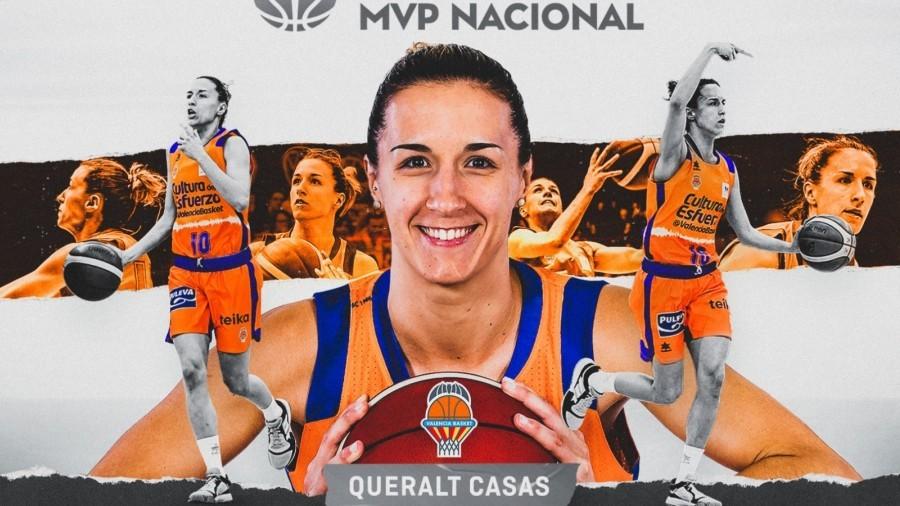 Queralt Casas, MVP nacional de Liga Femenina Endesa