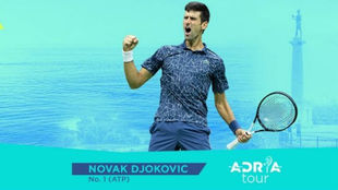 El cartel anunciador del Adria Tour