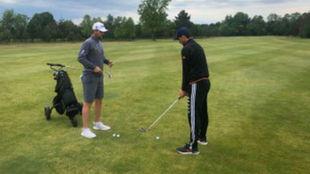 Thiem se ha aficionado al golf