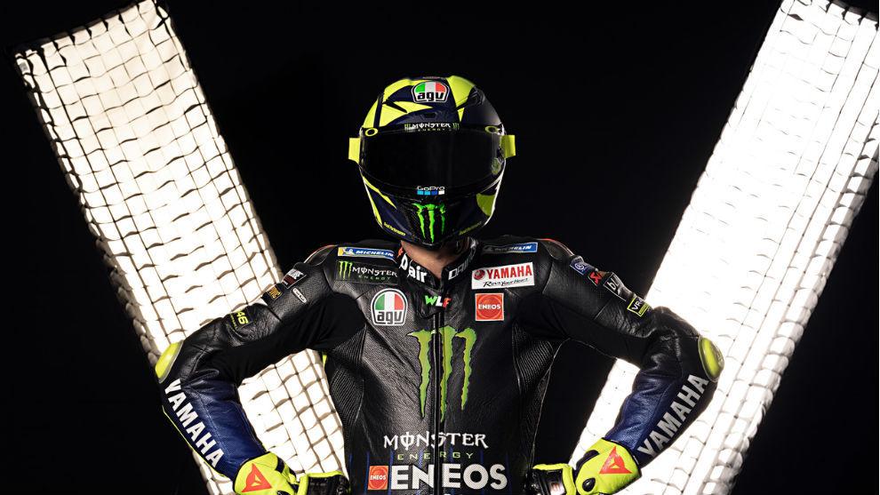 Valentino Rossi, con Yamaha.