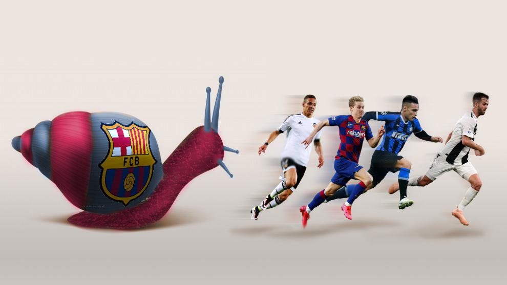 En el Barça, no hay fichaje sin culebrón