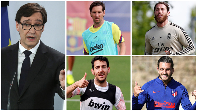 Messi, Ramos, Koke and Parejo to give feedback to Spanish government over LaLiga's return